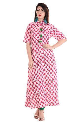 Shirt Style With CollarKurti