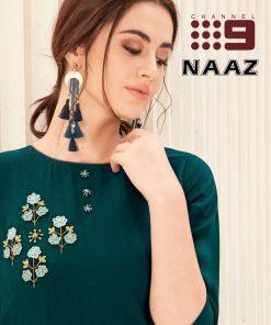 Wholesale kurti catalogue- wholesale Market Surat- channel-9-naaz-shades